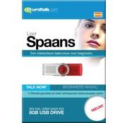 Eurotalk Talk Now Basis cursus Spaans Beginners - Talk now Spaans Leren (USB)
