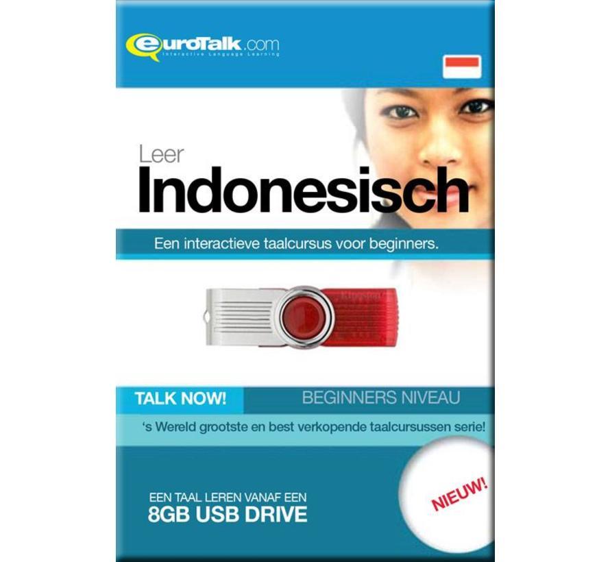 Talk now - Cursus Indonesisch voor Beginners (USB)