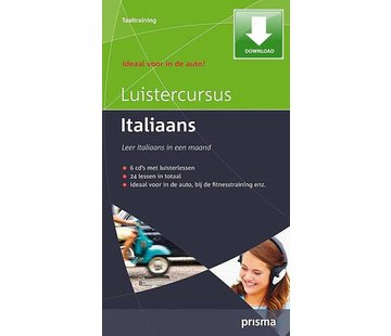 Prisma Download Prisma Luistercursus Italiaans  (Download)