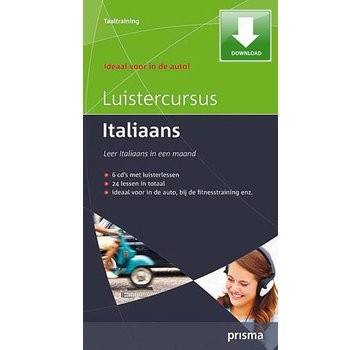 Prisma Download Prisma Luistercursus Italiaans  (Download)