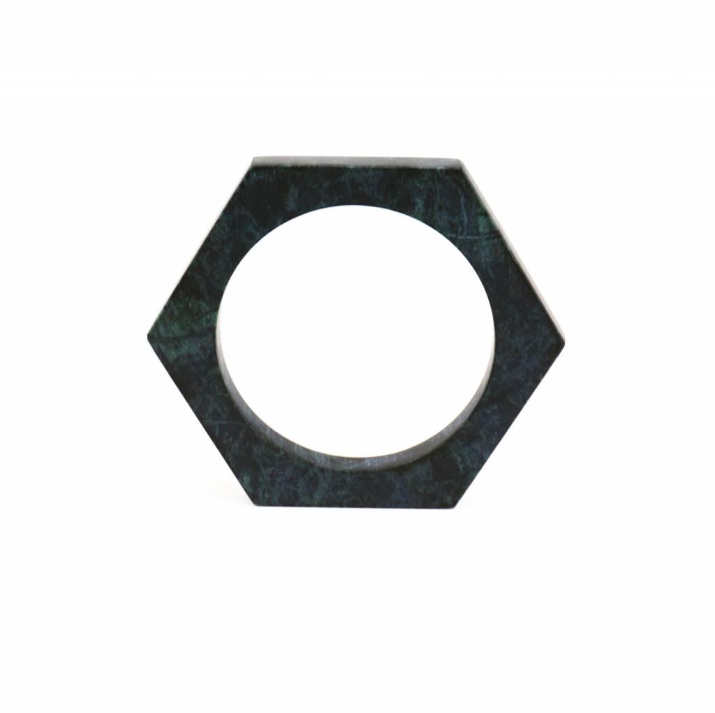Marble bracelet No.1 | Green