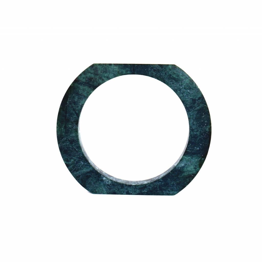 Marble bracelet No.3 | Green