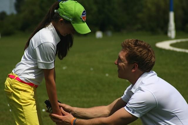 Golfschlägerfitting für Kinder
