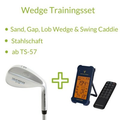 U.S. Kids Golf Tour Series Wedge Trainingsset - Stahl