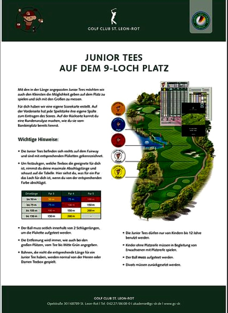 Junior Tees in St. Leon- Rot