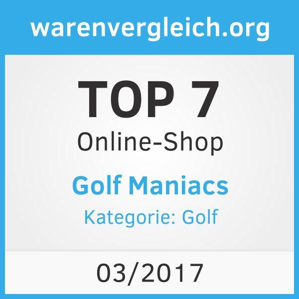 Auszeichnung für Golfmaniacs