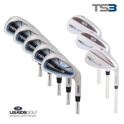 U.S. Kids Golf Tour Series 8-teiliger Eisensatz Stahl