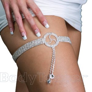 Garter band BDSM leg jewelry