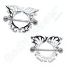 """Tepelschild """"Vlinder"""", 925 zilver"""