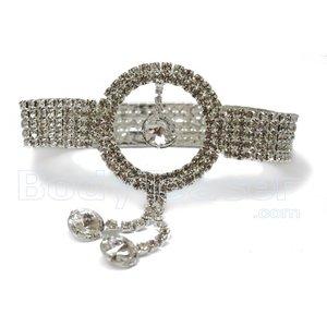 Bovenarmband, Armlet met Strass kristallen