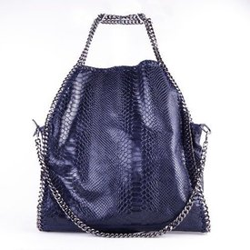 Stella Blue Leather