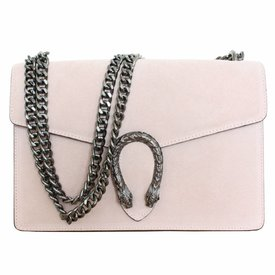 Dionysus Bag Suède - Powdery Pink