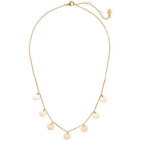Golden Coins Necklace - Copper Alloy