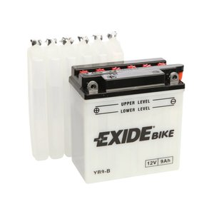 Exide motoraccu YB9-B (EB9-B) traditioneel