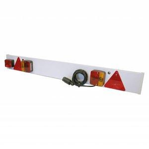 Carpoint verlichtingsbalk 120x14cm met mistlamp 9m kabel 7p
