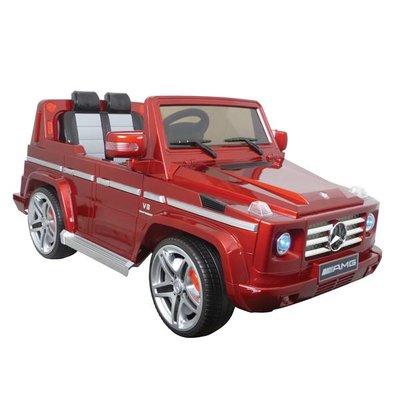 Accu-auto Mercedes-Benz G55 rood met afstandsbediening