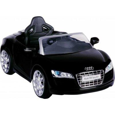 Accu-auto Audi R8 zwart met afstandsbediening