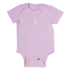 Daddy Proof Kids Wear Romper Korte Mouw Roze