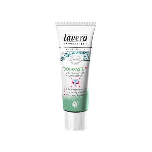 Lavera Basis sensitive tandpasta mint fluor