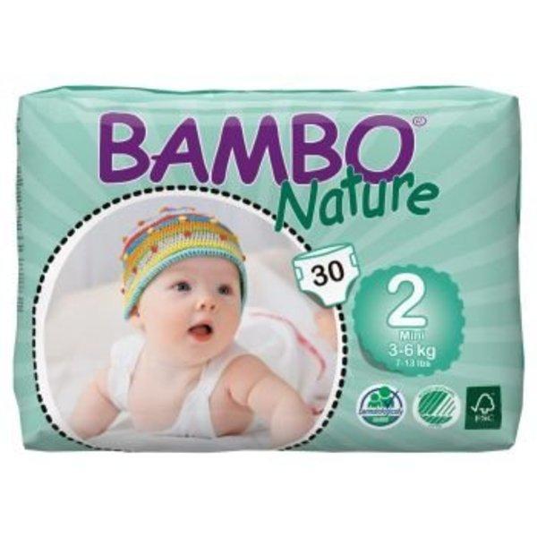 Bambo Bambo Babyluier Maat 2 Mini. 3-6 Kg