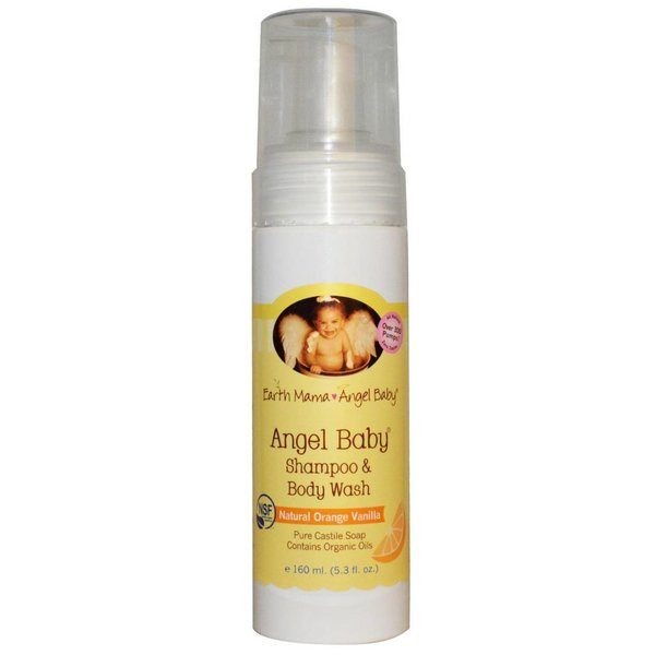 Earth Mama Angel Baby Earth Mama Angel Baby baby Shampoo & Body Wash