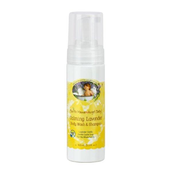Earth Mama Angel Baby Calming Natural Non-Scents Shampoo & Body Wash