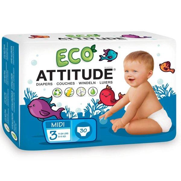 ATTITUDE Milieuvriendelijke Attitude eco luiers Maat 3