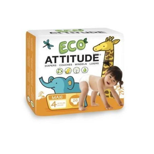 ATTITUDE Milieuvriendelijke Attitude eco-luiers maat 4