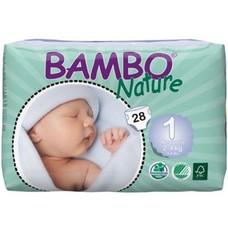 Bambo Babyluier Maat 1 Newborn 2‐4 kg