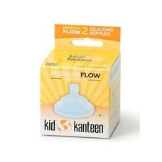 Klean Kanteen- rvsdrinkfles/ waterfles Speen medium flow