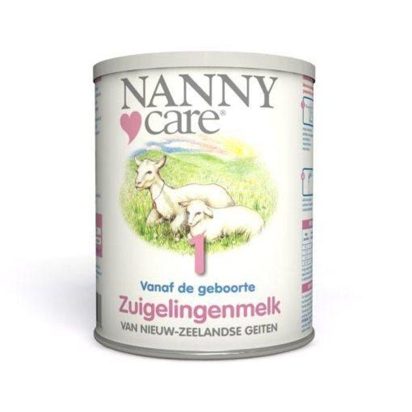 Nannycare geitenmelk voeding