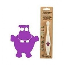 Jack N Jill Bio Kinder Tandenborstel Hippo