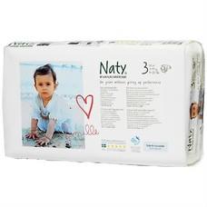Naty Luiers / Naty By Nature Babycare Luiers 3 Midi (4-9 kg) 52 stuks