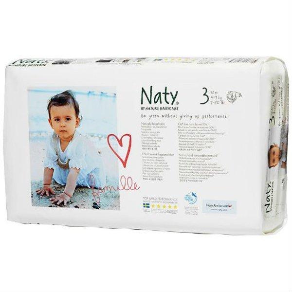 Naty Luiers Naty luiers 3 Midi (4-9 kg) 52 stuks
