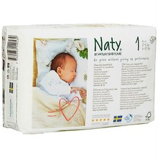 Naty By Nature Babycare Luiers 1 Newborn (2-5 kg)