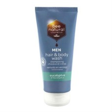 Bee Natural Hair & Body wash men eucalyptus