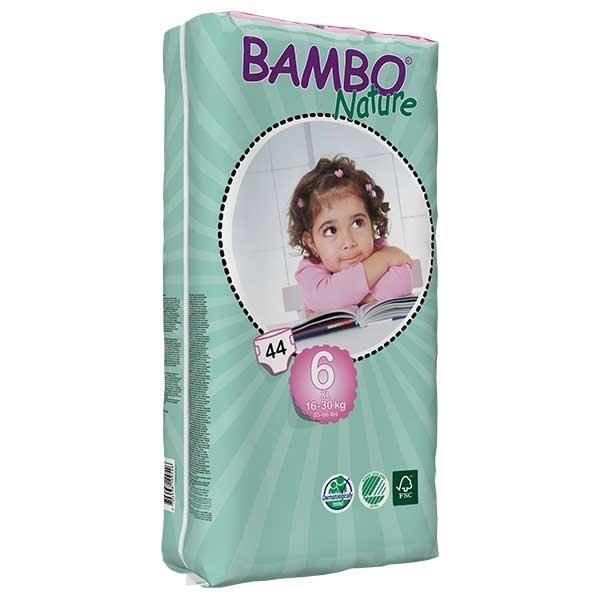 Bambo Bambo Babyluier maat 6 XL 16-30 kg Tallbag