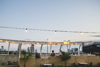 Aloha Bar Rotterdam kindvriendelijk terras