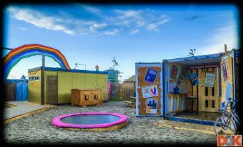 Kindvriendelijk terras Dok Amsterdam