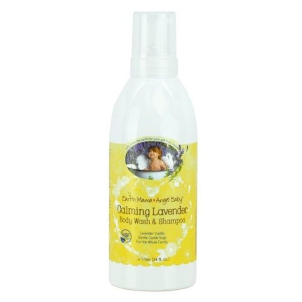 Earth Mama Angel Baby Calming Lavender Shampoo & Body Wash