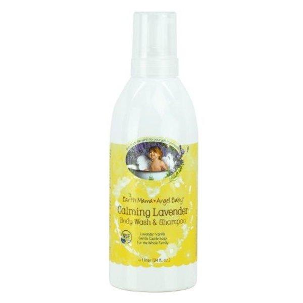 Earth Mama Angel Baby Calming Lavender Shampoo & Body Wash