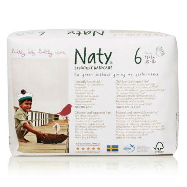 Naty Luiers Naty by Nature luierbroekjes maat 6