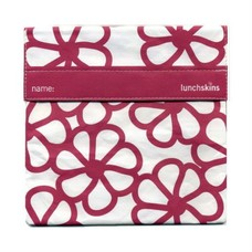 LunchSkins Sandwich bag - Berry Flowers