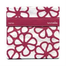 LunchSkins Sandwich bag - Berry Flowers