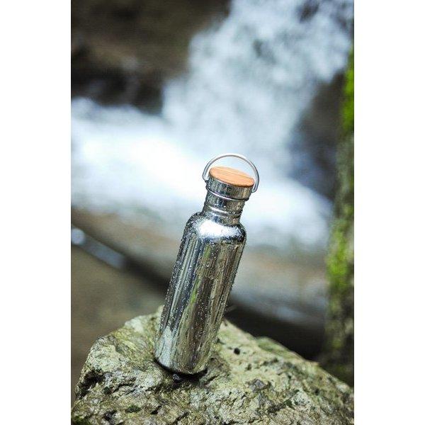 Klean Kanteen- rvsdrinkfles/ waterfles Klean Kanteen Reflect Waterfles 800 ml rvs glans