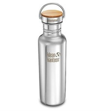 Klean Kanteen - rvs drinkfles / waterfles Reflect Waterfles 800 ml rvs glans