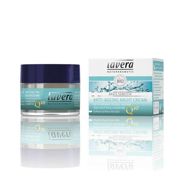Lavera Lavera Anti-rimpel nachtcrème Q10