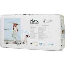 Naty By Nature Babycare Luiers 4+ Maxi plus (9-20 kg)