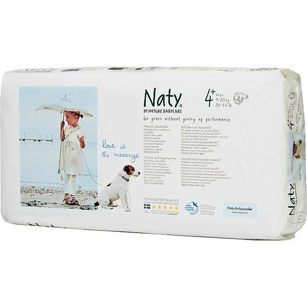 Naty Luiers / Naty By Nature Babycare Naty by Nature Luiers 4+ Maxi plus (9-20 kg)