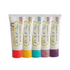 Jack N Jill Natuurlijke tandpasta - set van 5